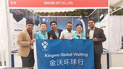"Kingwo at the ""Connected Vehicle 2019"""