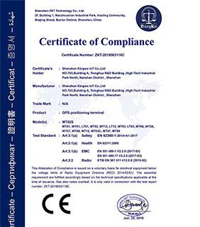 Kingwo CE Certification